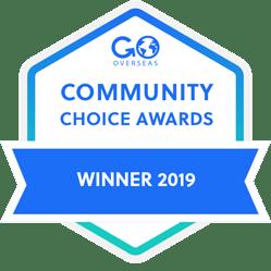 Gooverseas best internship provider award