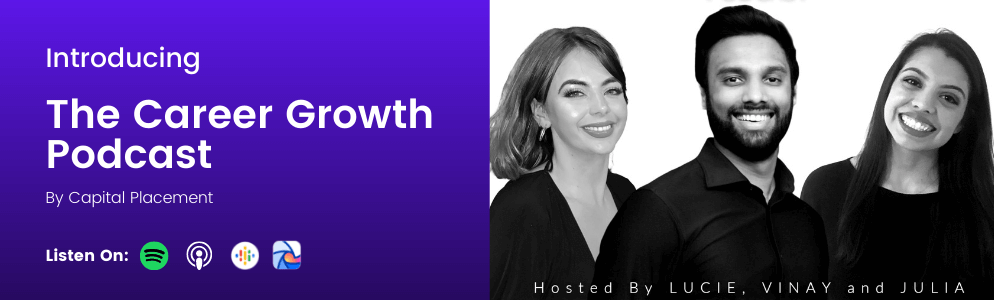 The Career Growth Podcast Banner